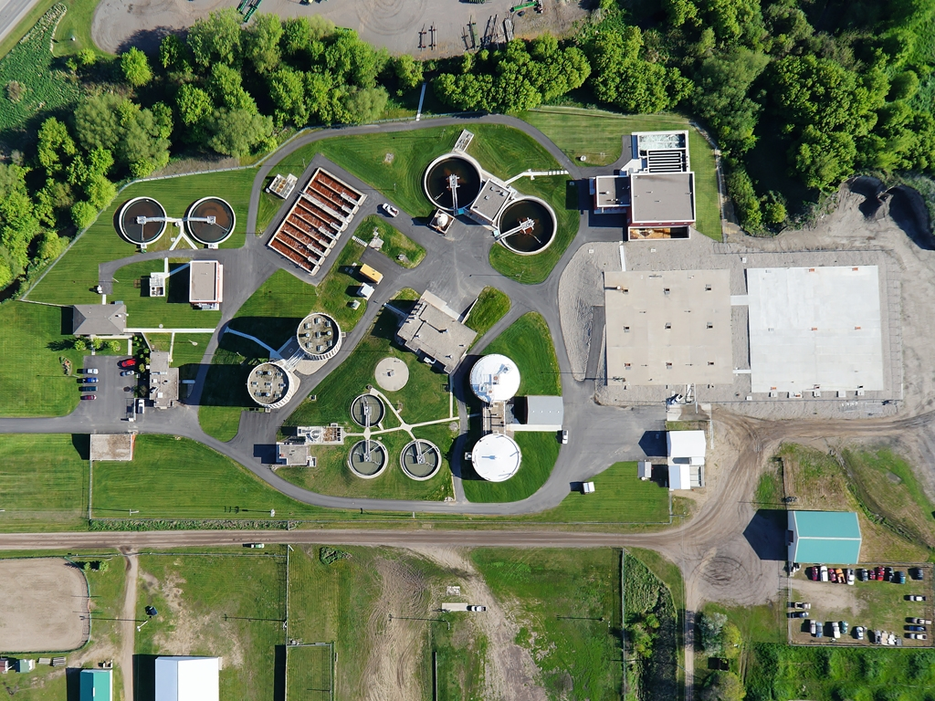Wastewater Treatment Plant Photo